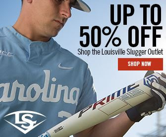 Slugger 50% Off Banner